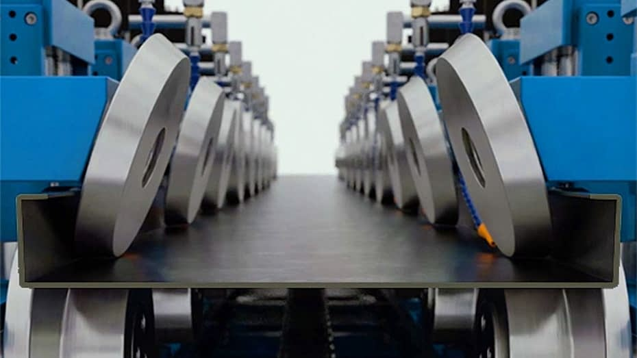 roll forming machine components