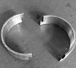 Roll Forming Machine Part Split Spacers