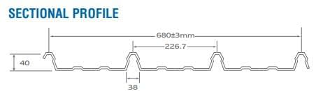 roofseal clip680 drawing