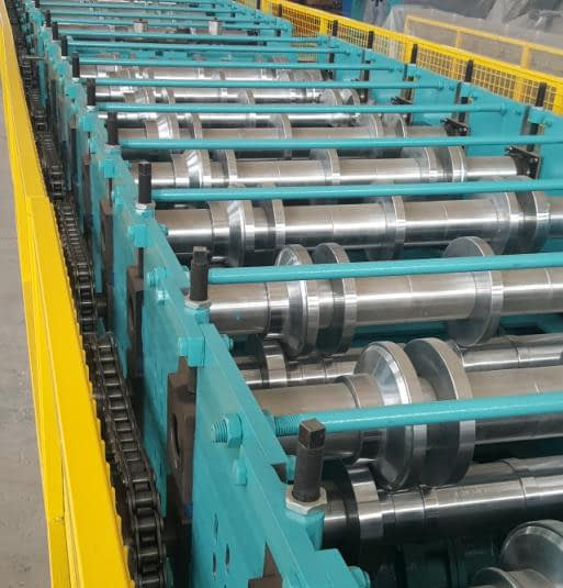 floor deck roll forming machine mill