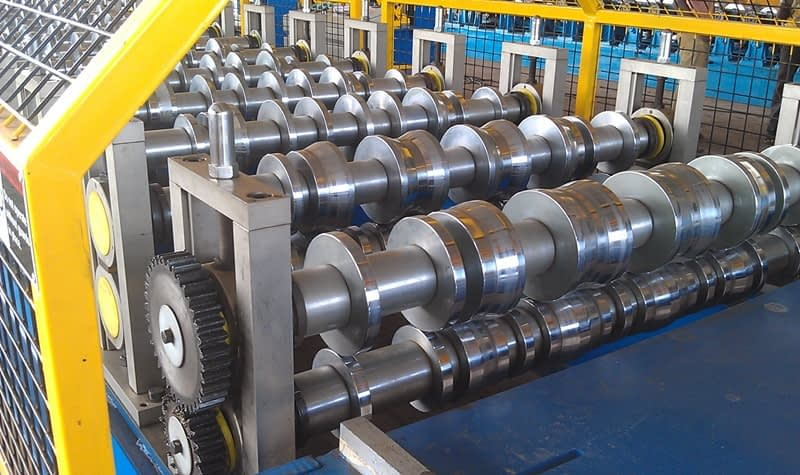 roll forming roller for grooves