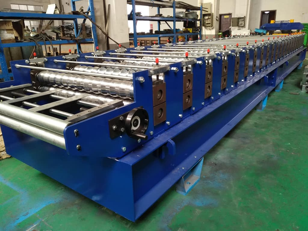 widespan roof roll forming machine