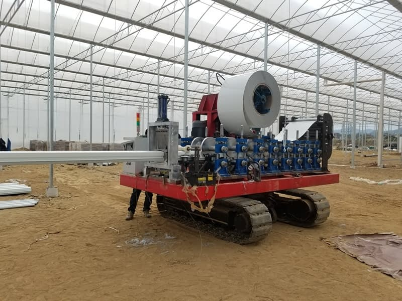 Hydroponic Hanging Gutters Roll Forming Machine
