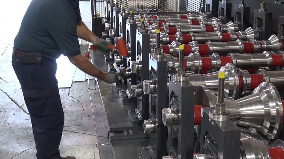 roll forming machine troubleshooting