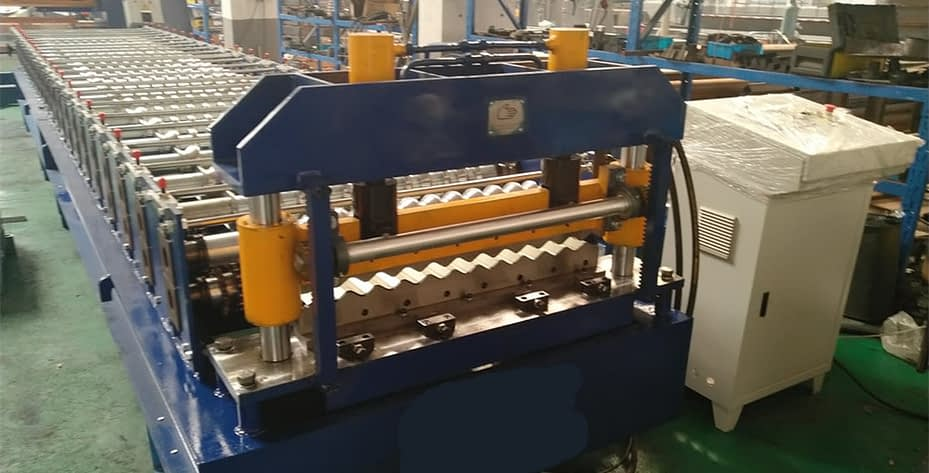 corrugated sheet roll forming