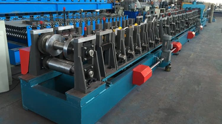 cropped multibeam roll forming machine