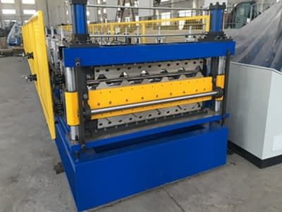 double layer roll former