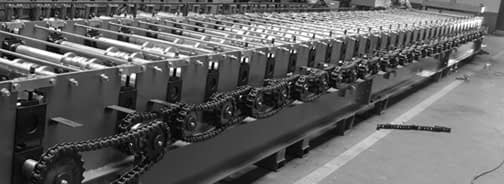 Chain Dirves roll forming mill