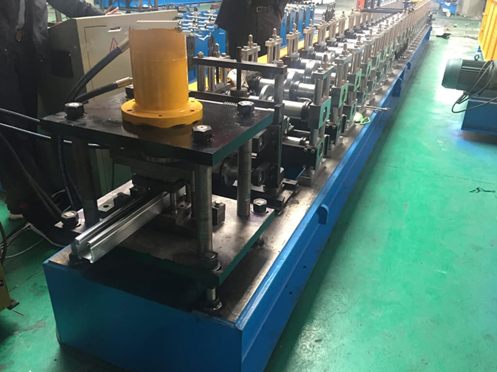 door track roll forming machine